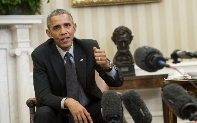 """Obama afirmó que tiene un """"interés personal"""" en cerrar un acuerdo sobre el programa nuclear de Irán, porque su propia reputación está en juego. Foto: Archivo / REUTERS."""