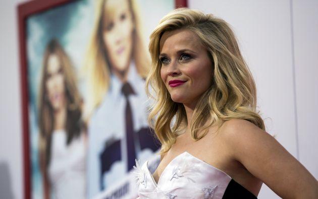 Witherspoon también será la productora de esta nueva cinta. Foto: REUTERS.