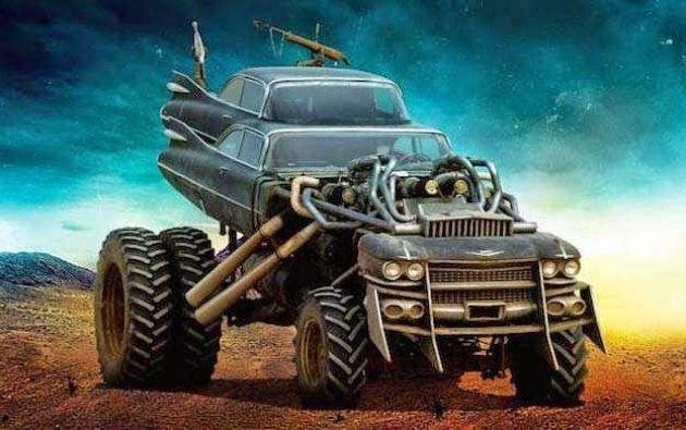El 'gigahorse', uno de los vehículos más llamativos del filme.
