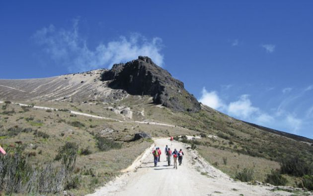 Volcán Rucu Pichincha. Foto: Referencial