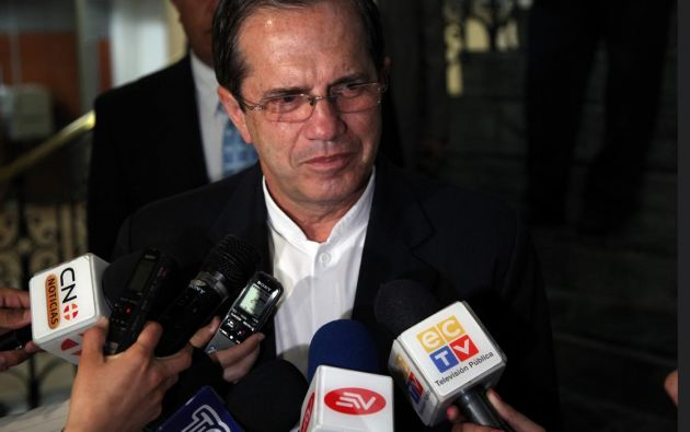 Los hermanos Guerrero aseguraron que interpondrán una denuncia contra el canciller Patiño. Foto: Flickr / Cancillería del Ecuador.