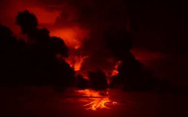 Volcán Wolf, isla Isabela. Foto: Parque Nacional Galápagos.