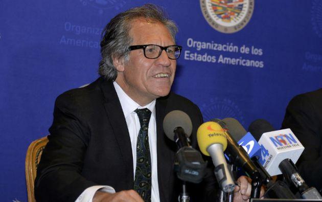 Luis Almagro. Foto: OAS-OEA