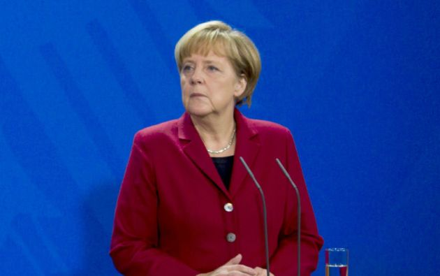 Angela Merkel, canciller de Alemania. Foto: REUTERS