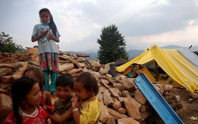 Nepal, traslado de menores. Foto: Reuters