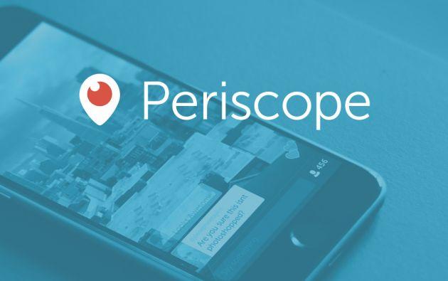 Periscope permite emitir vídeos en directo, que pueden verse hasta 24 horas después de su grabación. Foto: periscope.tv