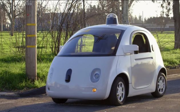 Vehículo autónomo. Foto: Google Self-Driving Car Project