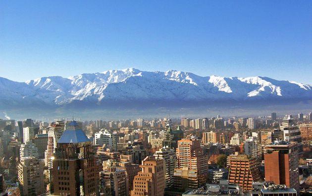 Santiago de Chile en invierno. Foto: Wikimedia