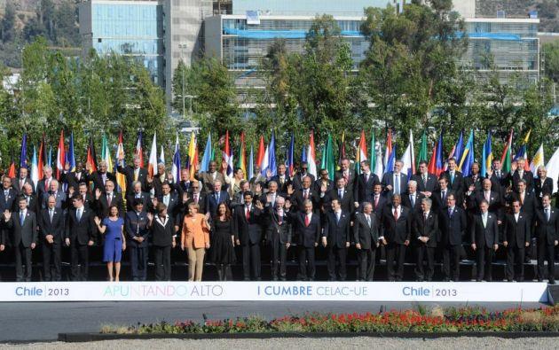 La primera edición de la cumbre se realizó en 2013 en Chile.