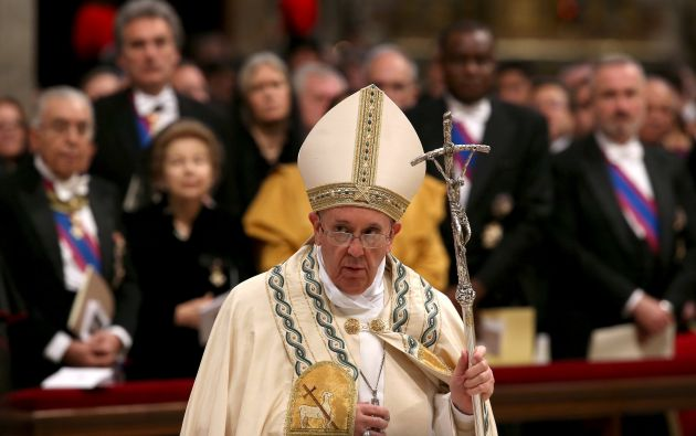Tras Ecuador, el pontífice, de 78 años, viajará a Bolivia, segunda etapa de una gira que lo llevará posteriormente a Paraguay. Foto: Archivo / REUTERS.