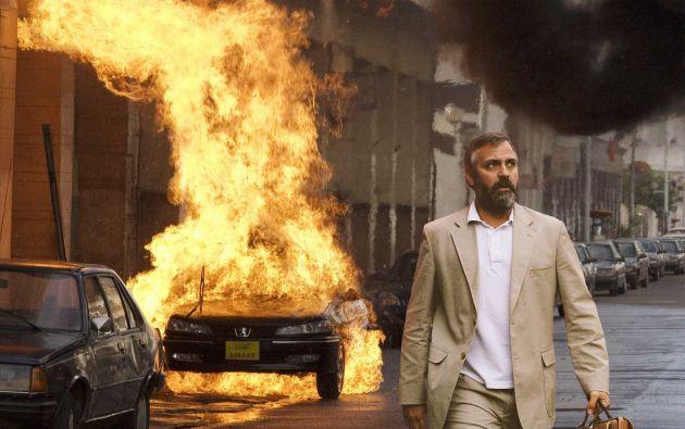 George Clooney en la película Syriana.