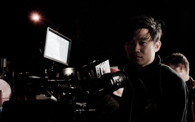 El director James Wan.