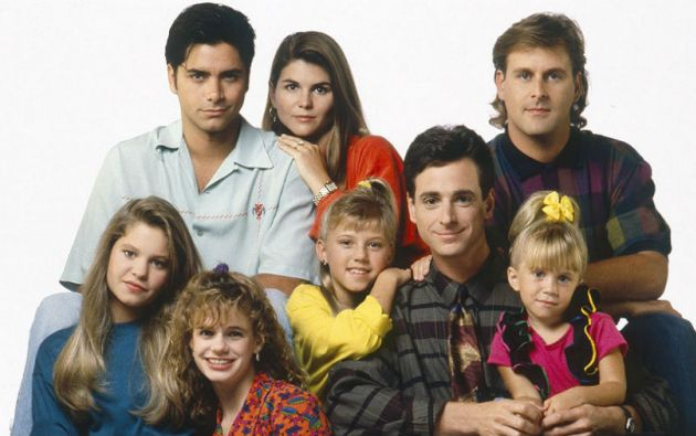 El elenco original de Full House.