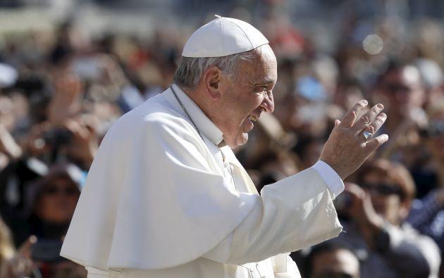 El papa estará en Ecuador del 5 al 8 de julio próximos. Foto: Archivo / REUTERS.