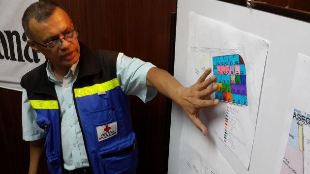 Felipe Bazán, presidente de la Cruz Roja Guayas. Foto: Vistazo