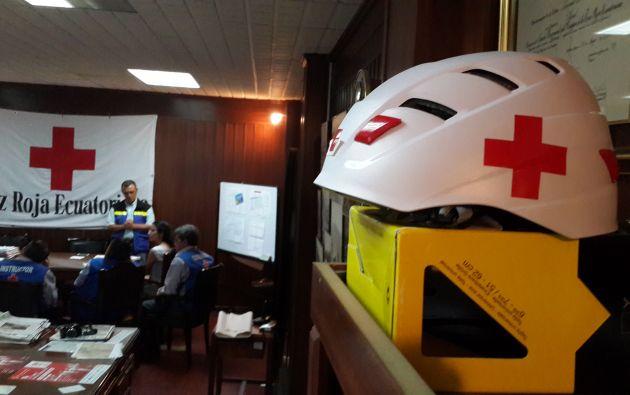 Cruz Roja Guayas. Foto: Vistazo