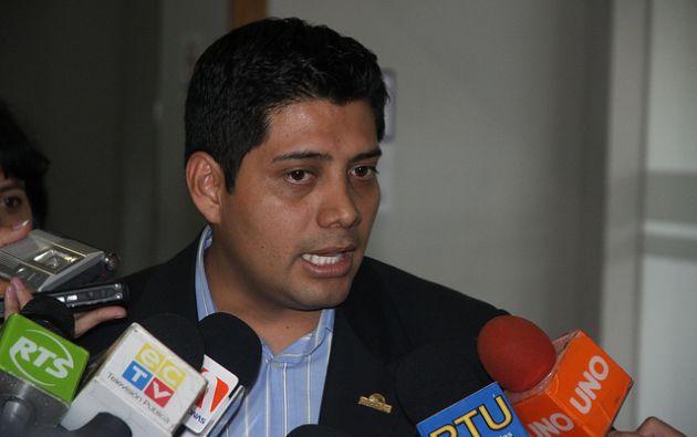 El legislador asegura que se desafilió por el veto presidencial a la Ley Galápagos. Foto: Asamblea Nacional.