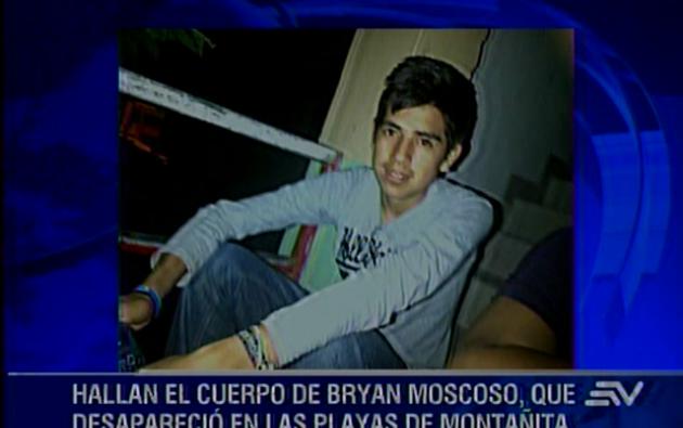 Esta mañana fue encontrado el cuerpo de uno de ellos, identificado como Bryan Moscoso, de 17 años.