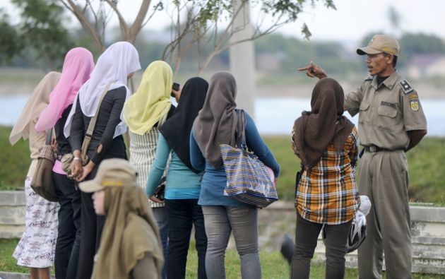 Aceh es la única provincia autorizada a aplicar la ley islámica en Indonesia.