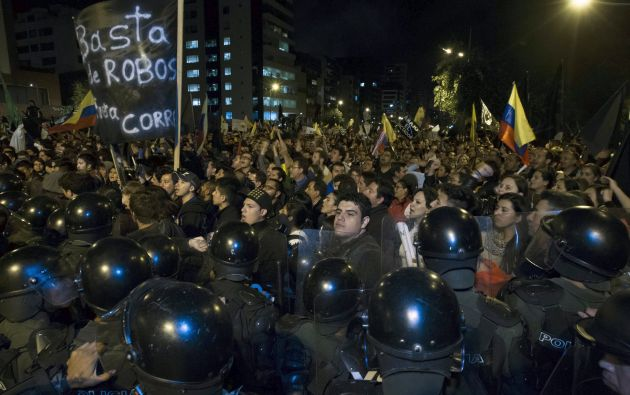 Los dirigentes del movimiento oficialista aseguran que no se tolerará la violencia en marchas. Foto: REUTERS.