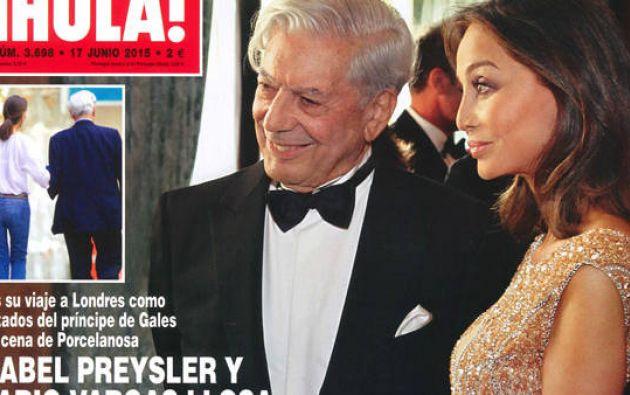 Vargas Llosa, según la misma revista, está separado de su mujer, Patricia Llosa.