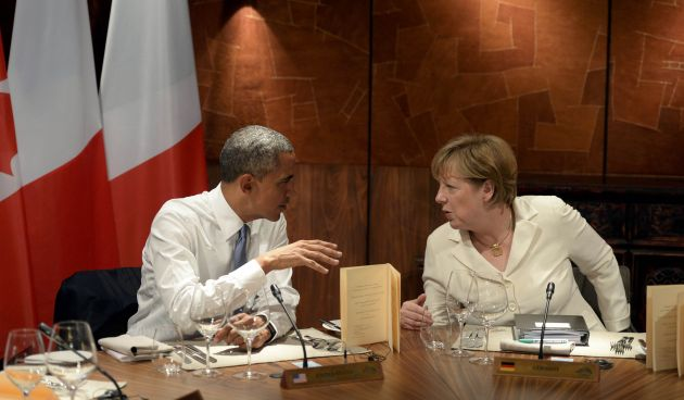 Angela Merkel y Barack Obama. Foto: Reuters