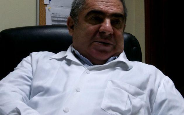 Francisco Mora Frixone, médico hematólogo y director técnico del Banco de Sangre de la Cruz Roja del Guayas.
