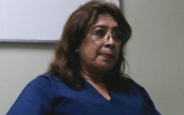 Ximena Haro Chávez, magíster en Medicina Transfusional y coordinadora técnica del Banco de Sangre de la Cruz Roja.