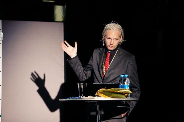 Julian Assange. Foto: Flickr