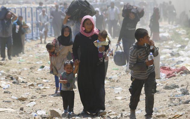 Refugiados sirios. Foro: Reuters