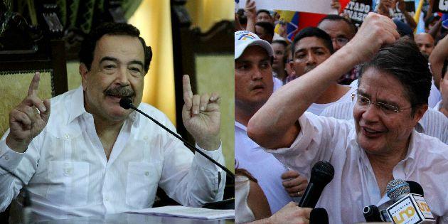 Ambos políticos ratifican manifestaciones.