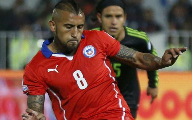 Arturo Vidal es una de las estrellas de la Copa América 2015. Foto: REUTERS