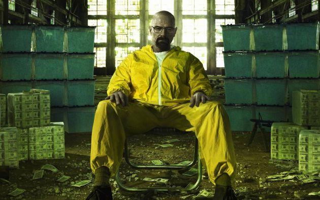 """Walter White (interpretado por Bryan Cranston), personaje principal de """"Breaking Bad""""."""
