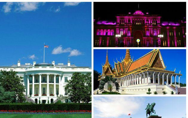 10 majestuosas casas de presidentes