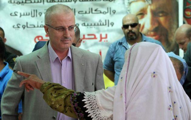 Rami Hamdalá, primer ministro palestino. Foto: AFP