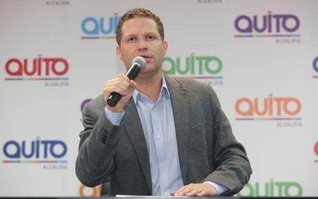 Mauricio Rodas. Foto: Alcaldía de Quito