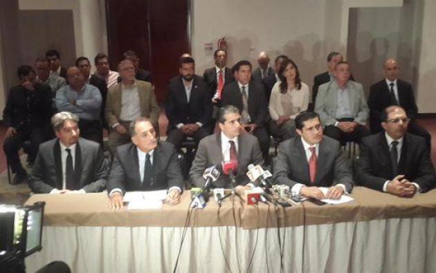 Los representantes empresariales dijeron que ya realizaron 37 propuestas de diálogo al Gobierno.