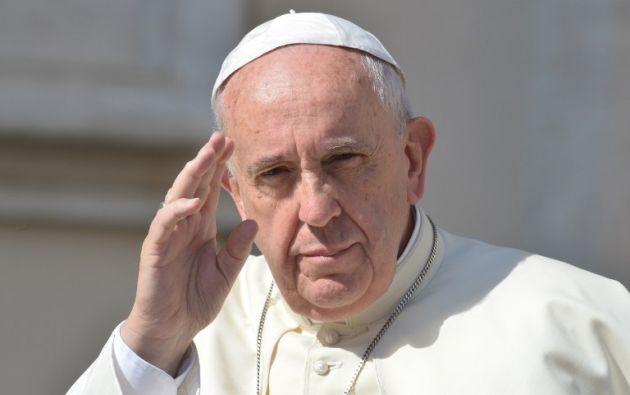 Papa Francisco. Foto: AFP