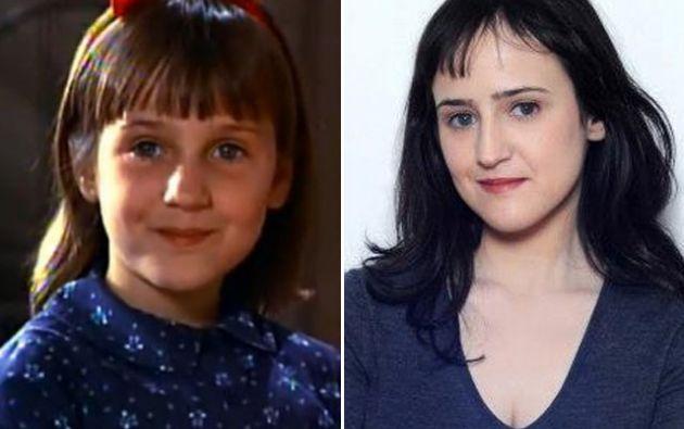 Antes y después de Matilda.