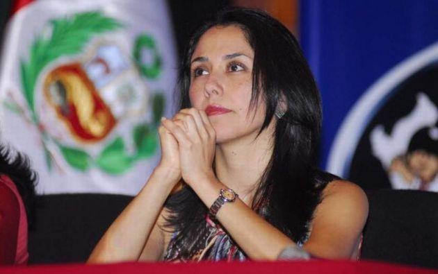 La primera dama enfatizó que ella no es funcionaria pública y dijo que no participó con Belaunde Lossio.