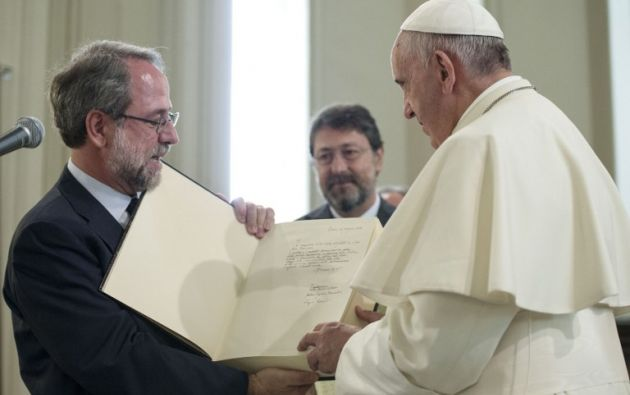 El papa Francisco visitará el país del 5 de julio al 8 de julio, dará dos misas campales en Quito y Guayaquil. Foto referencial: L'Osservatore Romano.