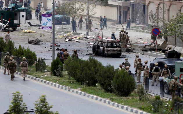 Ataque talibán. Foto: Reuters