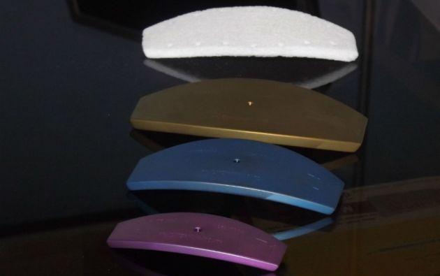 Modelos del implante de esternón.