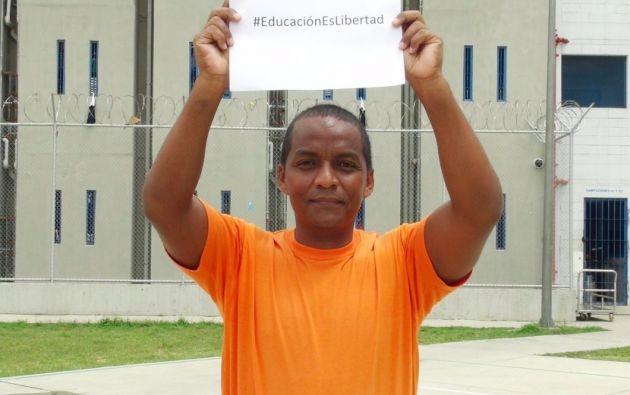 Roberto Quintero Gonzabay. Foto: Ministerio de Justicia