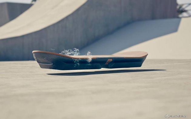 """Las pruebas del prototipo tendrán lugar en Barcelona """"en las próximas semanas"""", según Lexus."""