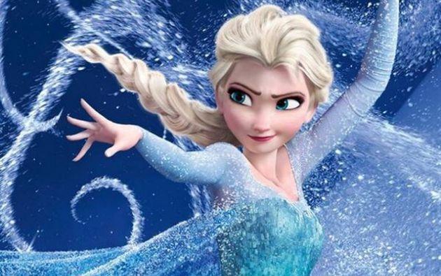 Reina Elsa de Frozen.