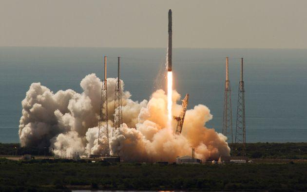 Despegue del SpaceX Falcon 9. Foto: REUTERS