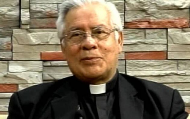 Fausto Trávez, y presidente de la Conferencia Episcopal.
