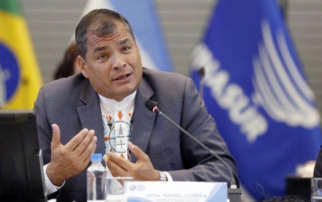 Presidente Rafael Correa. Foto: Flickr