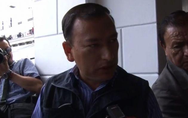 Edgar Cepeda, comisario de Aseo Salud y Ambiente de la Zona Centro.